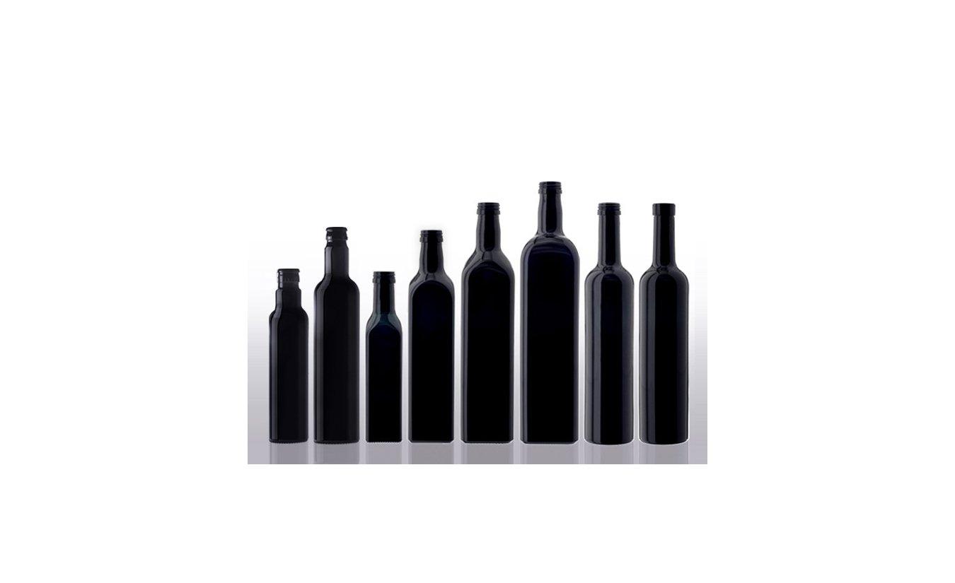 Miron violet glass oil bottles round CPR