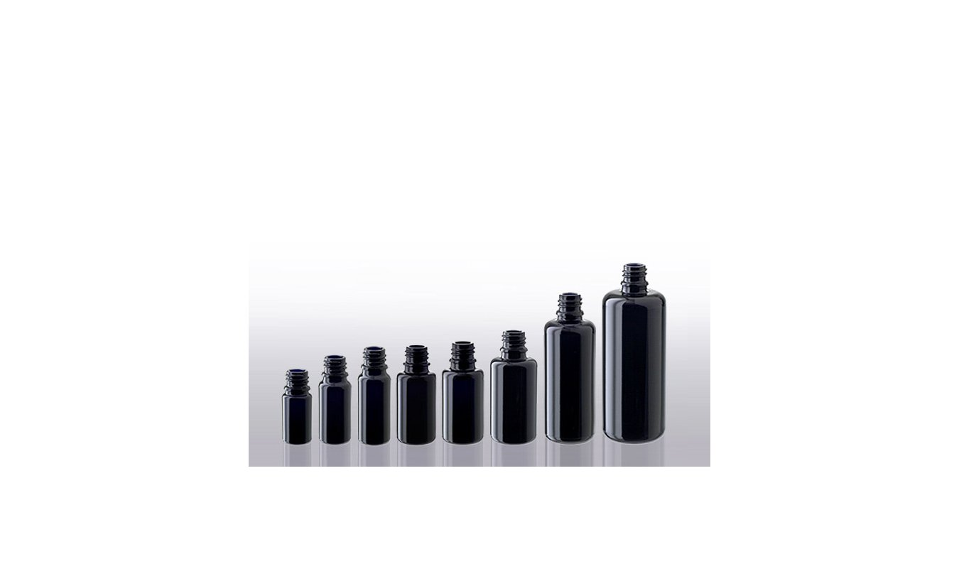 Miron violet glass bottles (DIN 18)