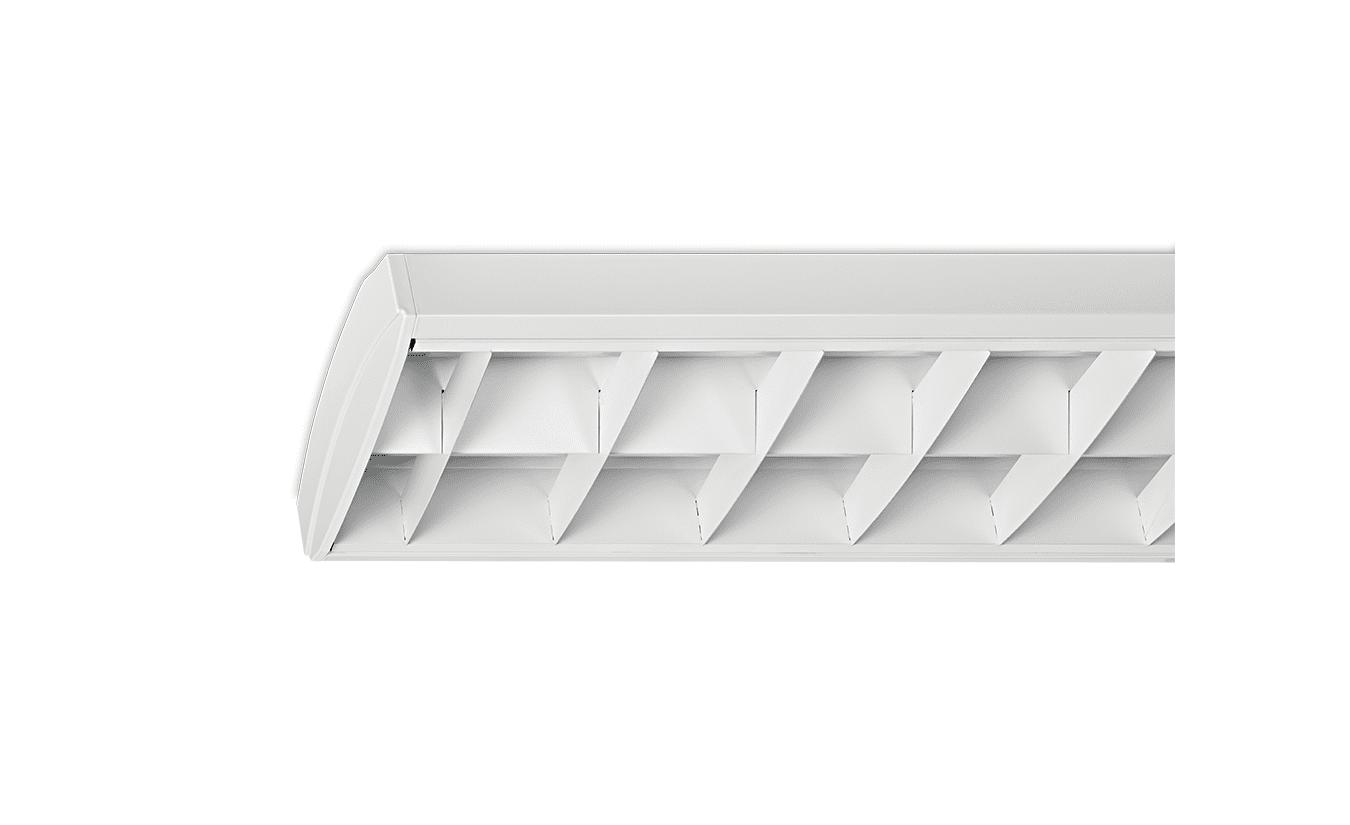 Mountainlight Opbouwarmatuur 2x 58 Watt, Wit rooster