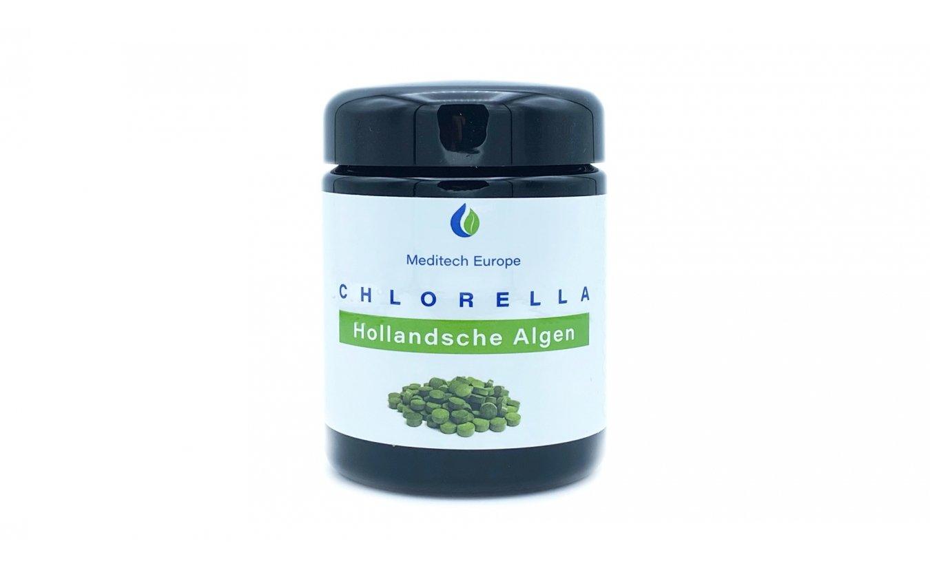 Chlorella algen tabletten