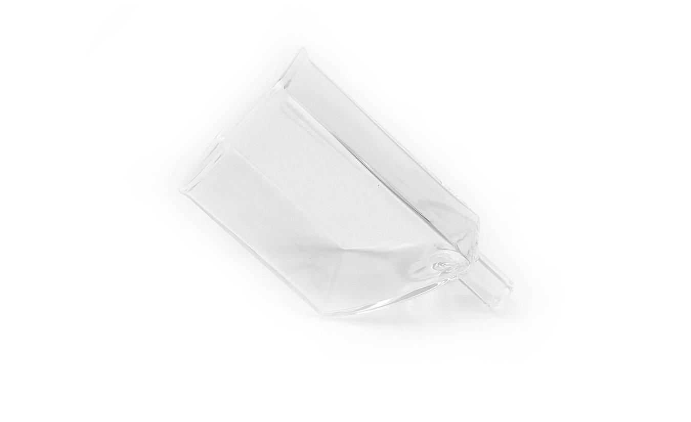 Glazen filterhouder inclusief 3 actieve koolstof filters