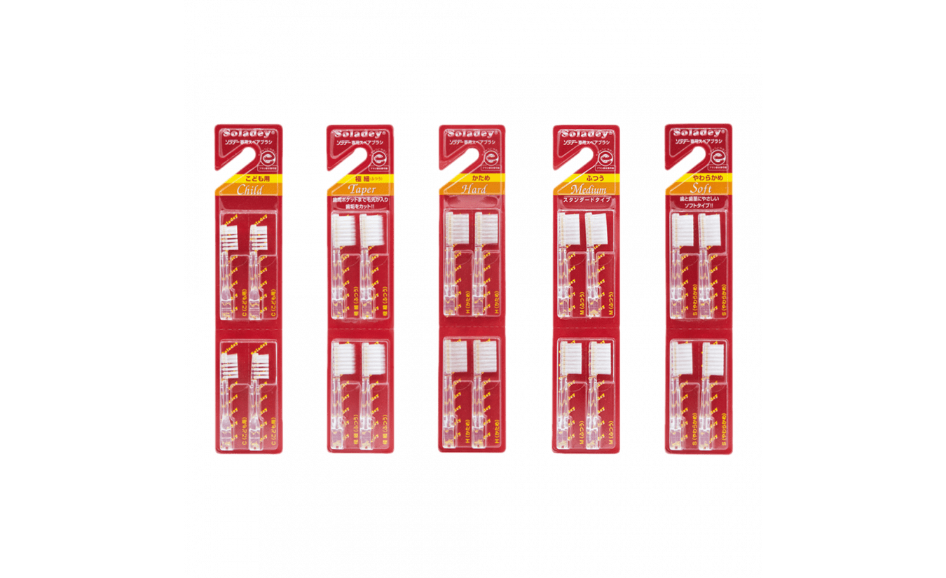 Soladey verwisselbare opzetborstels