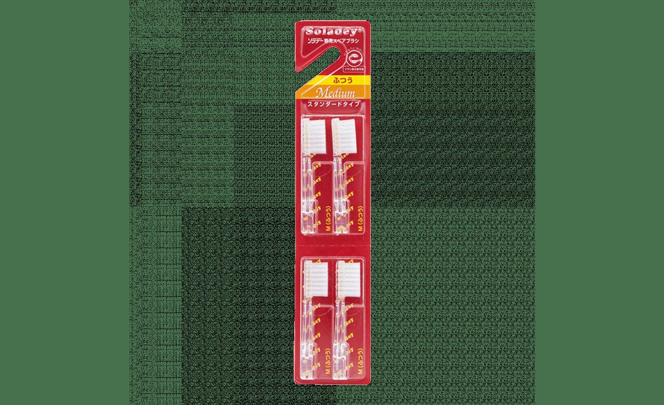 Soladey opzetborstel Medium 4 stuks