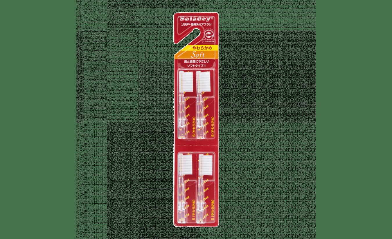 Soladey opzetborstel soft 4 stuks