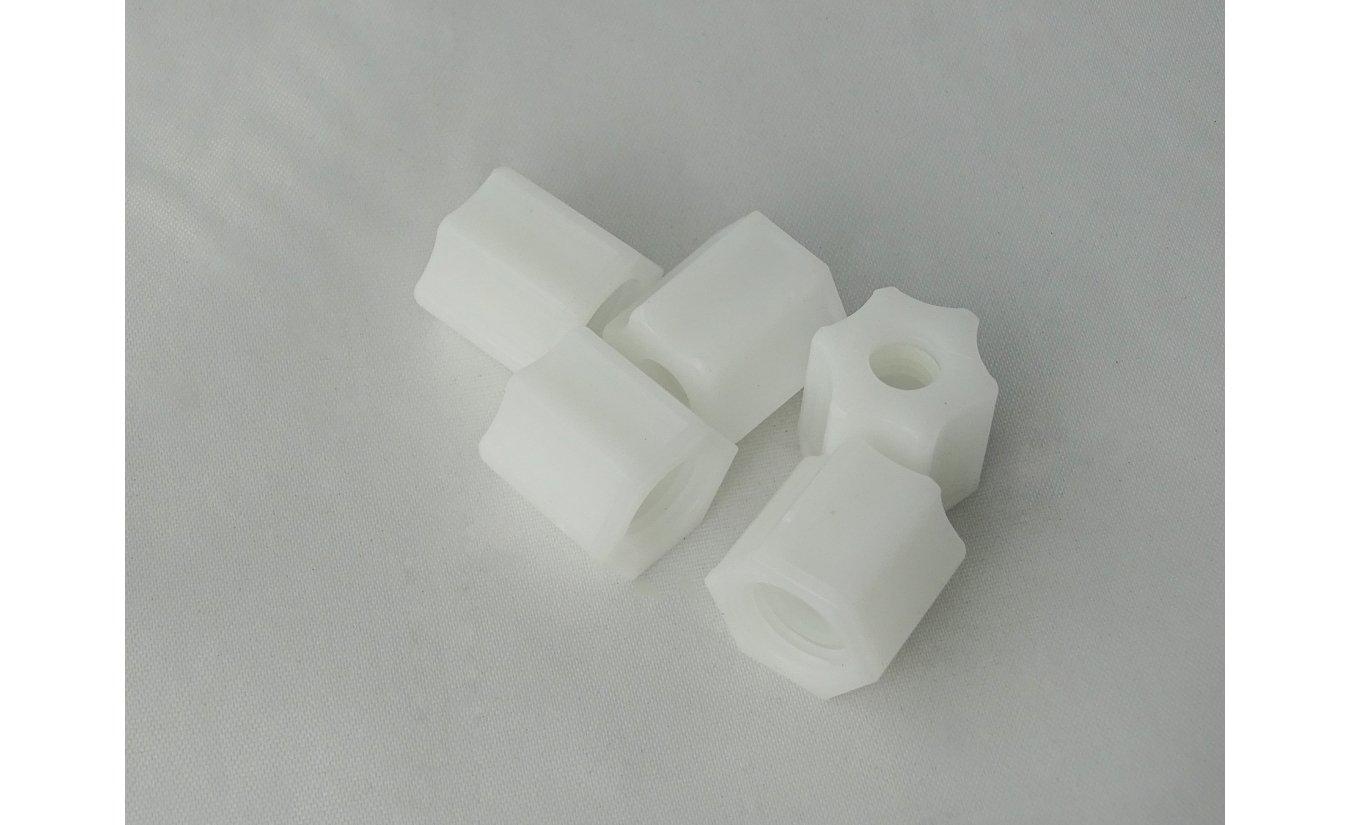 Nut, Plastic Compression, 1/4