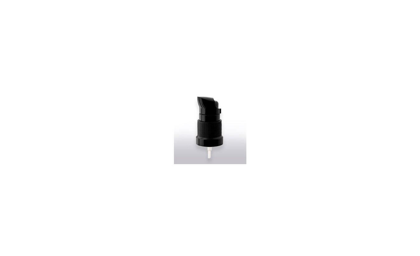 Pump cap with dosage 0,10 ml, Metropolitan Gel, black protective cap, (1 pcs)