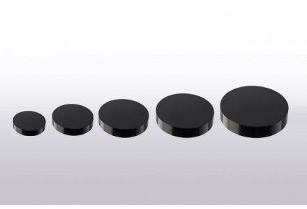 Modern lid for wide Cosmetic Jars