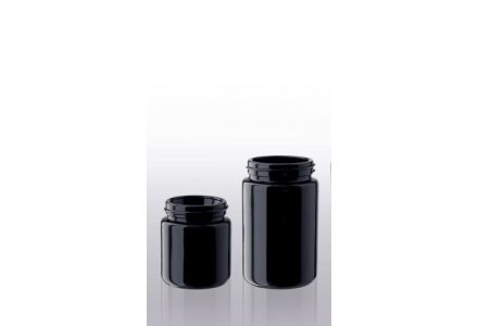 Miron wide neck jars, narrow