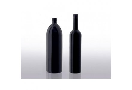 Miron violet glass water bottles