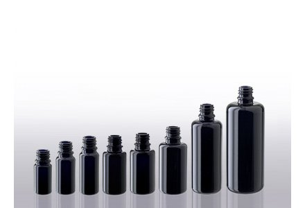 Miron violet glass bottles (DIN 18)