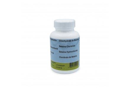 Betaine Hydrochlorine capsules 350mg, 100 stuks.