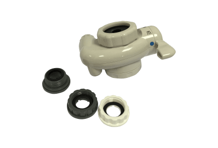 Junction tap with Male & Female faucet adaptors for Akai Ionizer Plus® MS900UV
