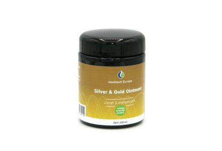 Colloïdaal Zilver Zalf met Goud 250 ml