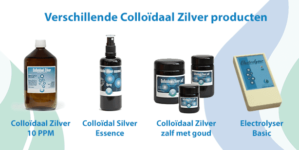 Colloïdaal Zilver producten Meditech Europe