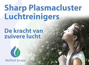 Meditech Europe - Sharp Plasmacluster Luchtreinigers