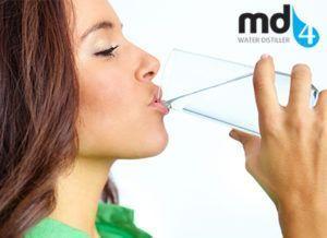 MD4 Destilleerder zuiver gezond water drinken