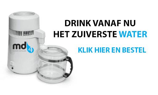 MD4 Waterdestilleerder Gezond Drinkwater